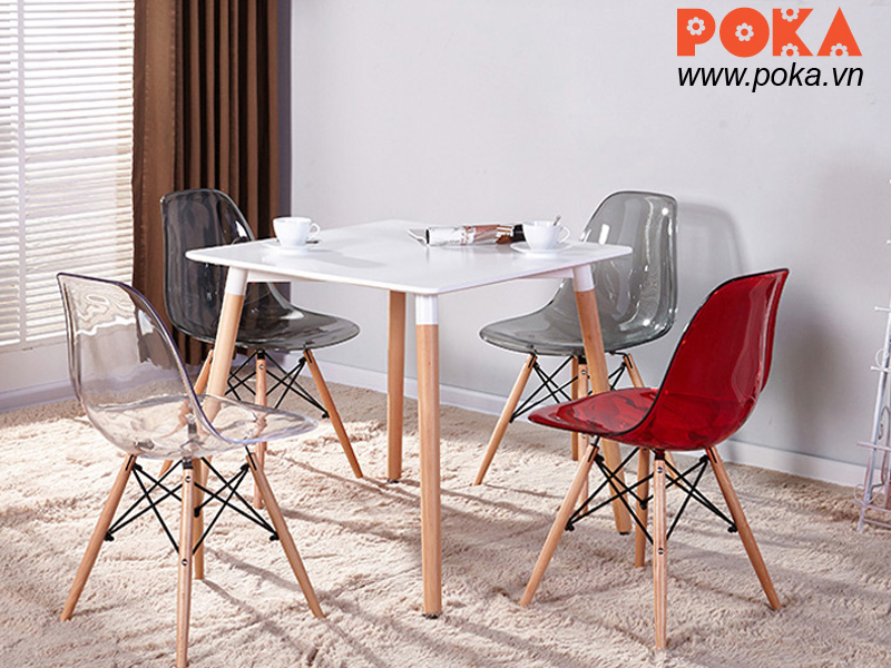 Ghế Eames DSW trong suốt