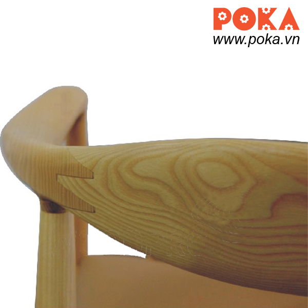 Round Wegner chair