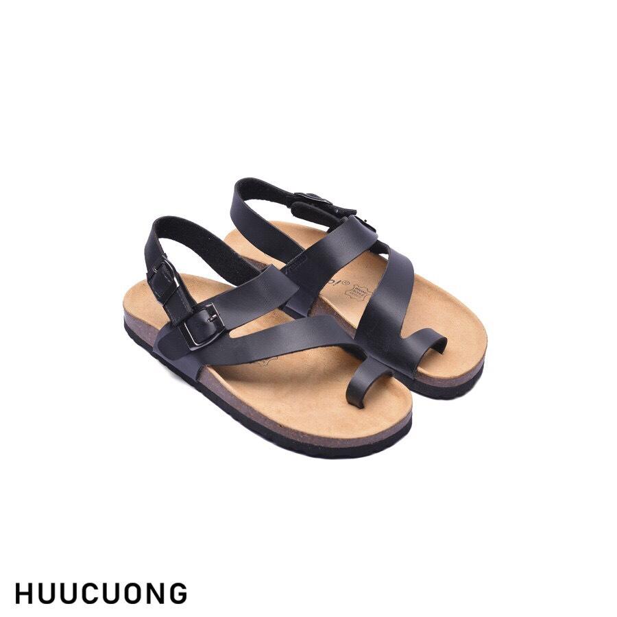sandal-xo-ngon-tron-den-de-trau