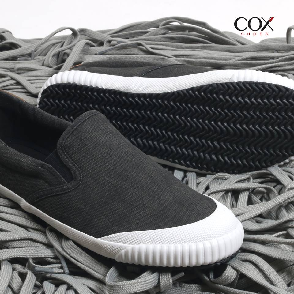 COX SHOES 502 BLACK