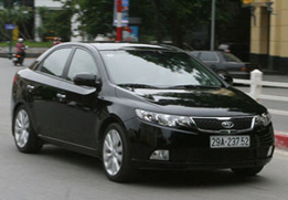 Cho thuê xe ôtô Kia Forte