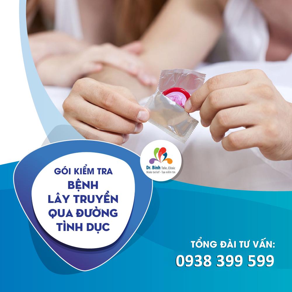 Gói kiểm tra bệnh lây truyền qua đường tình dục GS15 - Dr. Binh Tele_Clinic / Basic STD screening