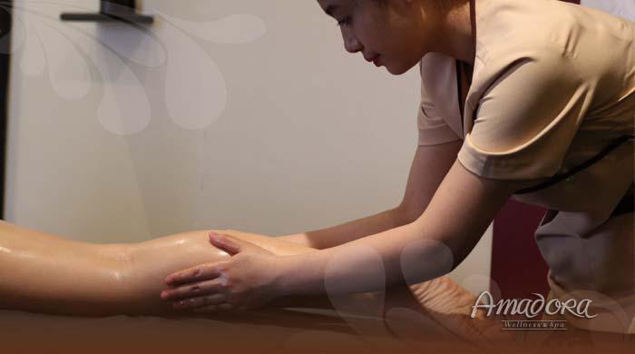 Massage thư giãn và giảm nhức mỏi chân - Amadora Spa / Foot massage