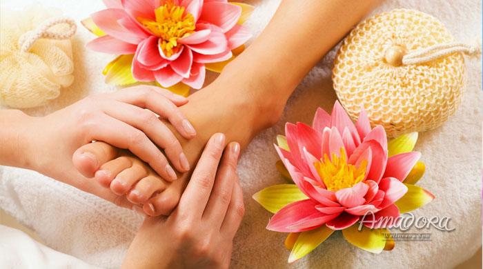 Massage thư giãn và dưỡng da chân - Amadora Spa / Foot massage