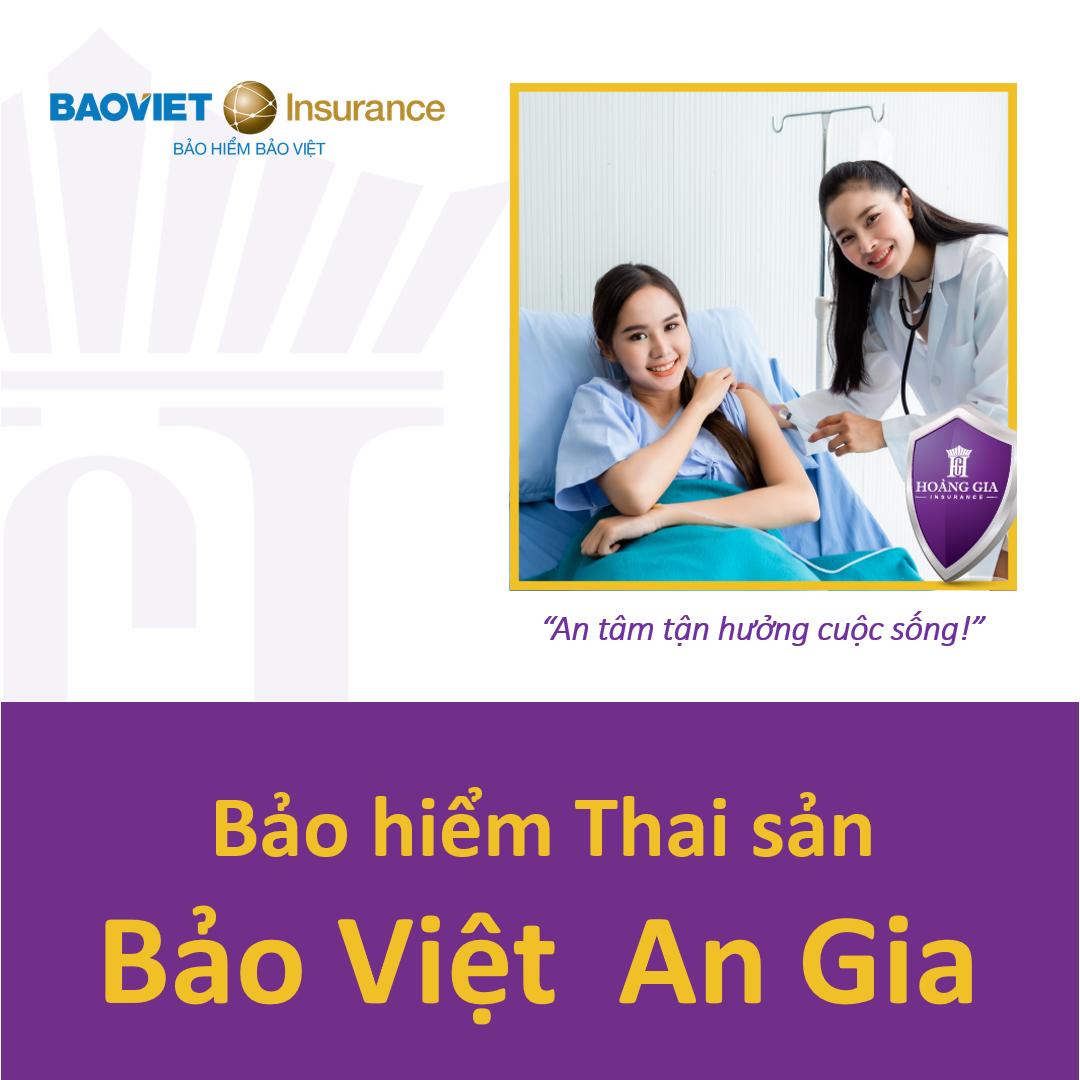 Bảo hiểm Thai sản - Bảo Việt An Gia / Maternity Insurance