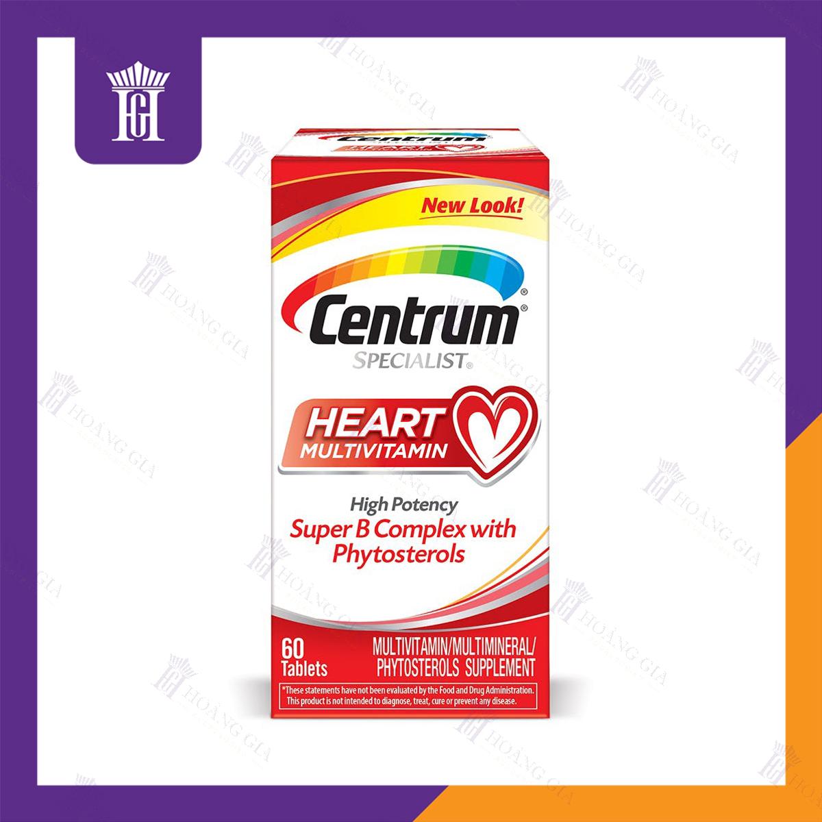 Vitamin tổng hợp Centrum Specialist Heart