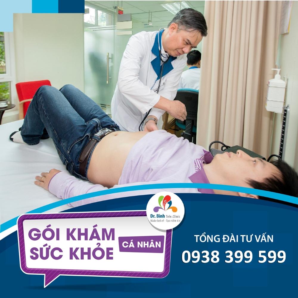 Gói khám Sức khỏe Cơ bản GS01 - Dr. Binh Tele_Clinic / Health screening basic package