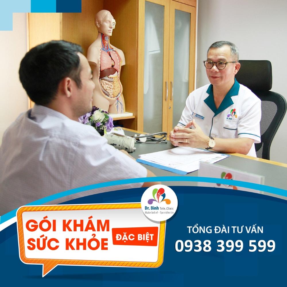 Gói khám Sức khỏe Đặc biệt Nam, Nữ GS04, GS05 - Dr. Binh Tele_Clinic / Health screening special package for men, women