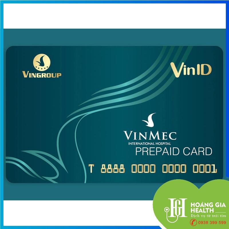 Thẻ trả trước - Vinmec / Prepaid card