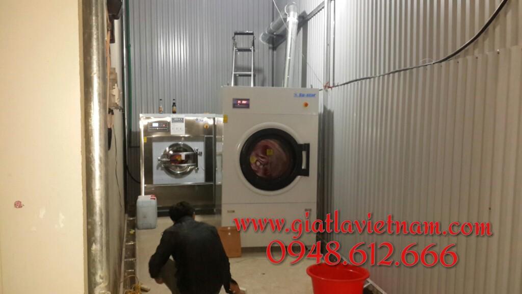 Cung cấp hệ thống máy giặt, máy sấy công nghiệp tại TP. Lai Châu