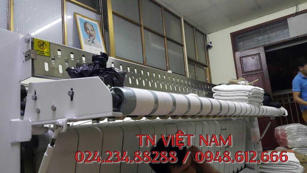 Lắp đặt máy là lô là ga công nghiệp su-star tại Cầu giấy, Hà Nội