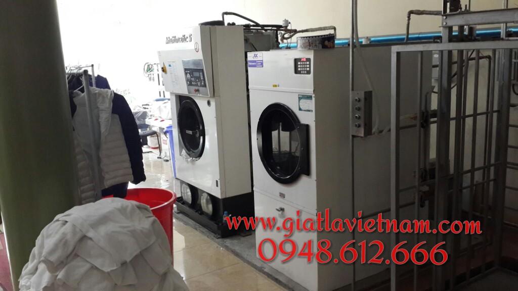 Cung cấp máy giặt công nghiệp, máy giặt khô, hóa chất giặt là tại Bắc Ninh