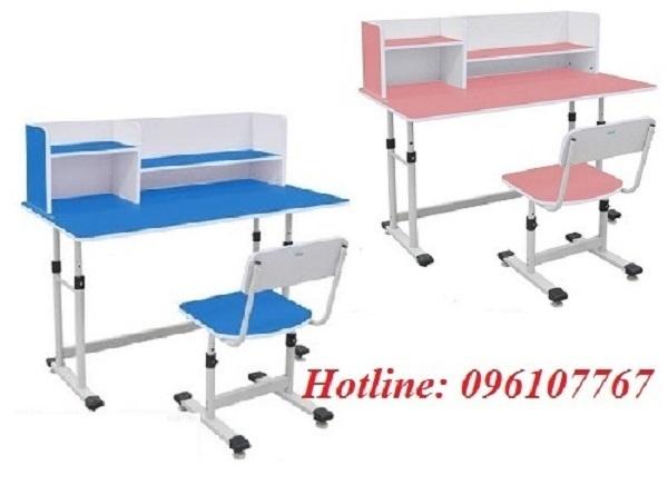 Bàn ghế học sinh chân sắt Xuân Hòa được sản xuất trên dây chuyền khoa học tân tiến