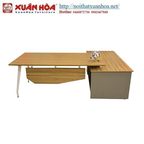 mẫu bàn giám đốc Xuân Hòa độc đáo