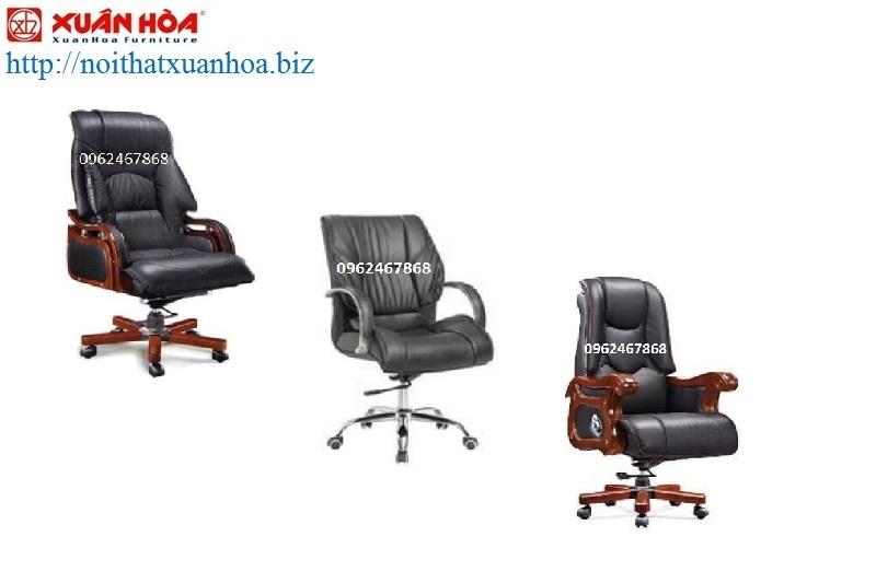 Ghế giám đốc Xuân Hòa gây ấn tượng với người tiêu dùng bởi thiết kế sang trọng
