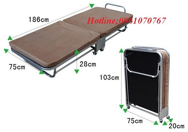 Giường gấp văn phòngtại Hà Nội