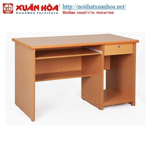 Bàn vi tính khung gỗ Xuân Hòa BVT-05-00