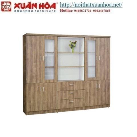 tủ gỗ tài liệu xuân hòa