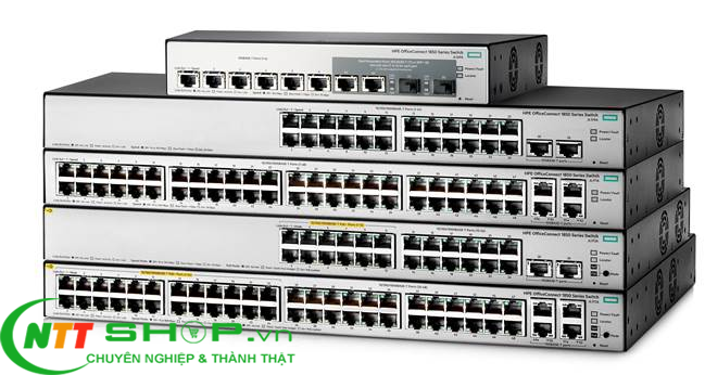 Thiết bị mạng HPE JL171A OfficeConnect 1850 48G 4XGT Switch