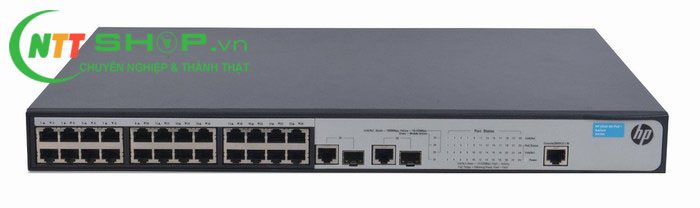 Thiết bị mạng HPE JG539A OfficeConnect 1910 24 PoE+ Switch