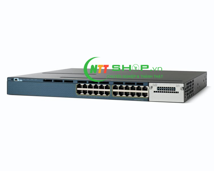 Switch Cisco WS-C3560X-24P-S Catalyst 3560X 24 Port PoE IP Base