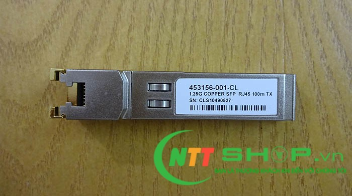 453154-B21, 453156-001 HP VIRTUAL CONNECT 1Gb RJ-45 SFP