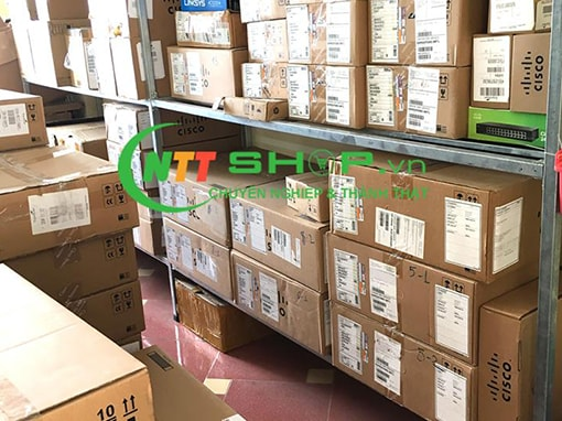 Thiết bị mạng Switch Cisco WS-C3650-48FQM-S 48 10/100/1000 Ethernet PoE+ and 4x10G Uplink ports, with fixed 975WAC PS, 1 RU, IP Base