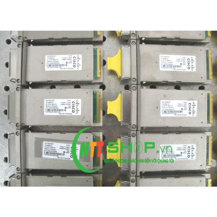 Module quang Cisco X2-10GB-ZR Transceiver x2 for SMF, 1550-nm, SC Duplex, 80km