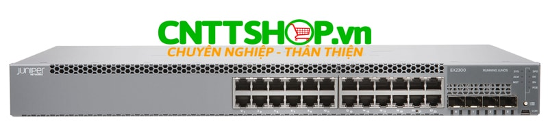Juniper EX2300-24P-VC Switch  24 Port PoE+, 4 SFP+ Uplink Slot