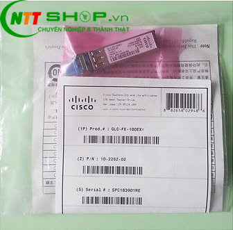 Module quang Cisco GLC-FE-100EX= 100BASE-EX 1310nm 40km SMF