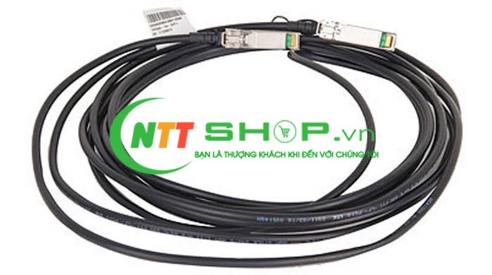 JG329A HP X240 40G QSFP+ to 4x10G SFP+ 1m Direct Attach Copper Splitter Cable