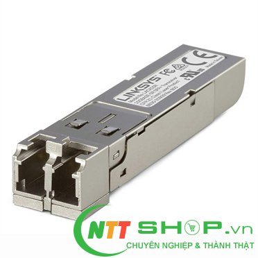 Module quang SFP Linksys - LACXGSR - 10Gbase-SR: 10 Gbps, up to  300 m, for MMF optical fiber