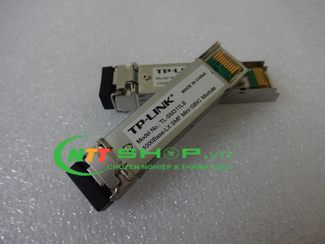 Module quang TP-Link TL-SM311LS Gigabit SFP module, Single-mode, MiniGBIC, LC interface, Up to 20km distance