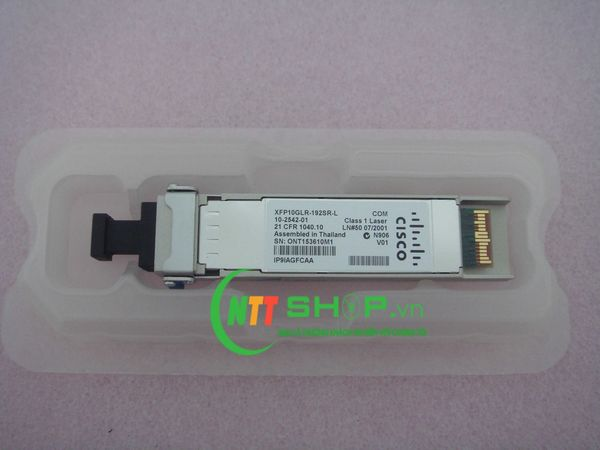 Cisco Multirate XFP10GLR-192SR-L Module for SMF 1310-nm LC Duplex 10km