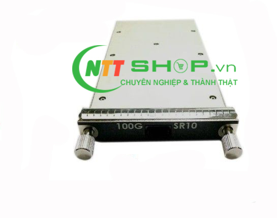 Module quang Brocade 100G-CFP-10x10-2KM-OM 100GBE CFP OPTIC (LC), 10X10, FOR DISTANCES UP TO 2 KM OVER SMF with Digital Optical Monitoring