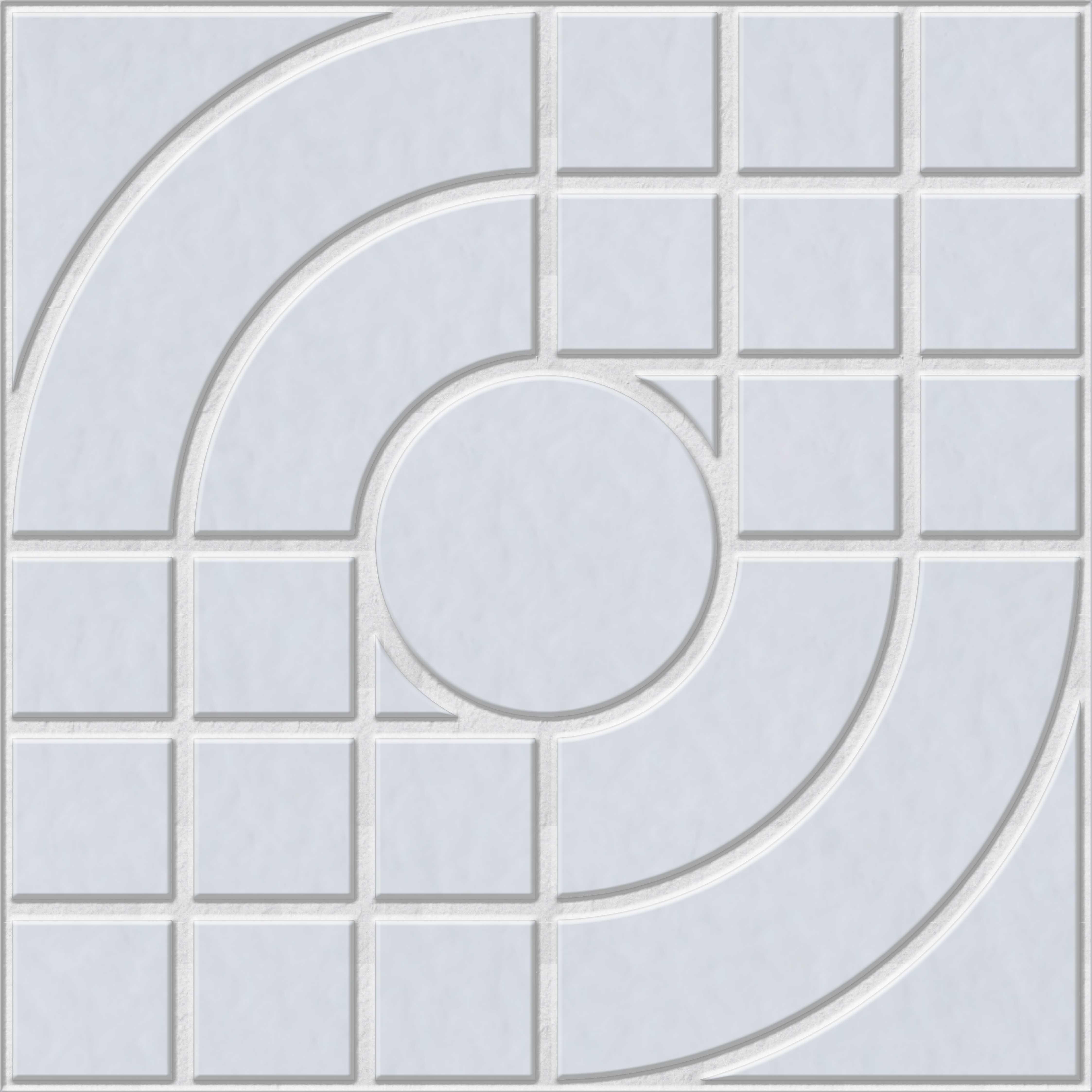 Gạch vuông nghệ thuật màu xi măng