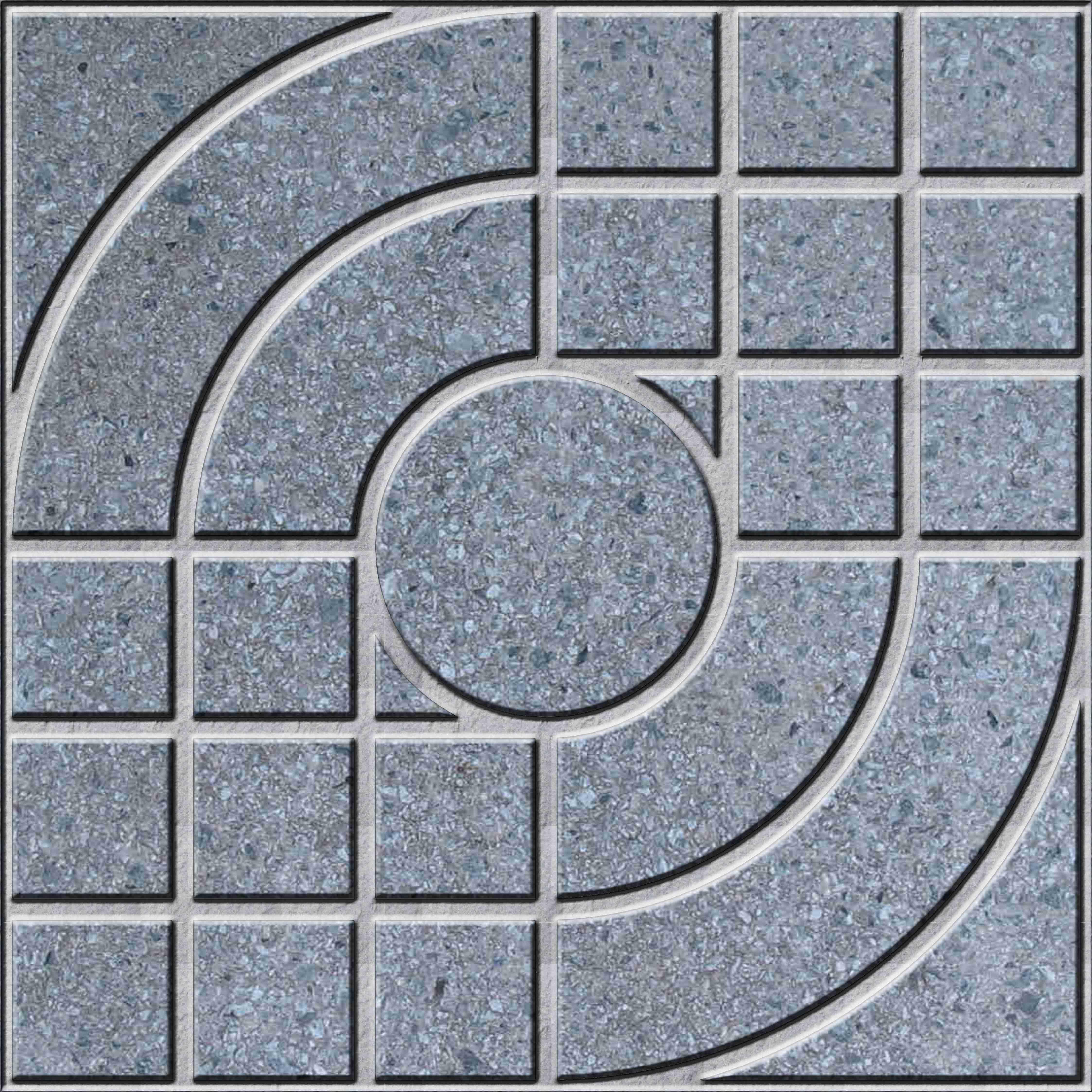 Gạch granite vuông nghệ thuật