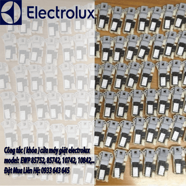 Khóa cửa máy giặt electrolux EWF 85752, 85742, 10742