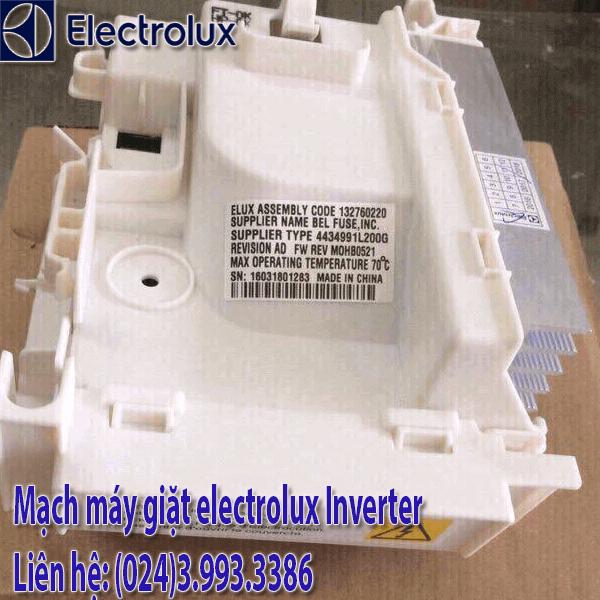 Mạch máy giặt electrolux inverter