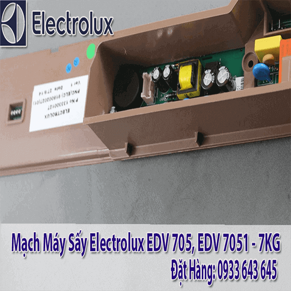 MẠCH MÁY SẤY ELECTROLUX EDV 705, EDV7051, EDS7552