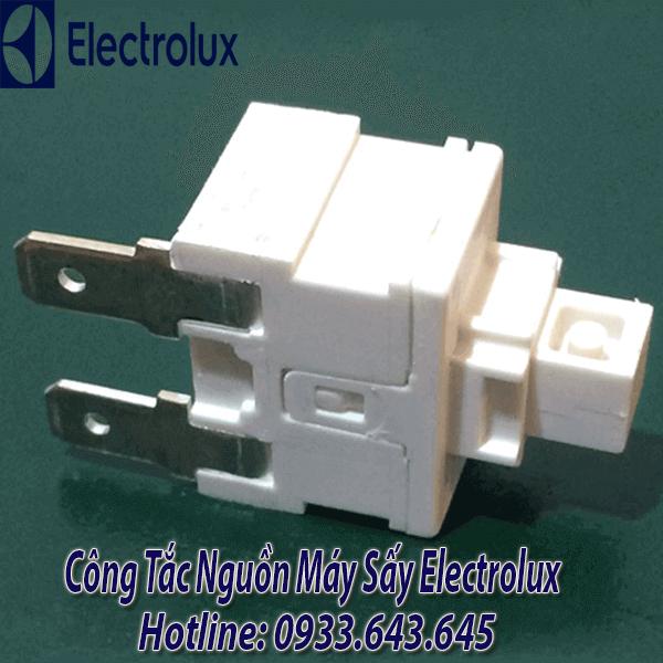 Công tắc ( Nút ) nguồn máy sấy electrolux