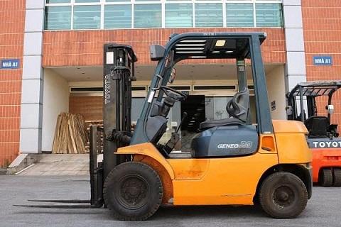 Xe nâng dầu 2 tấn Toyota 60-7FD20