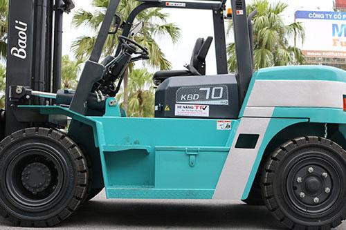 Xe nâng dầu 7 tấn Baoli là sản phẩm thế mạnh của tập đoàn