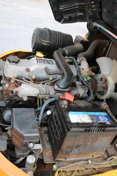 Khoang động cơ Xe nâng dầu 2 tấn Toyota 60-7FD20