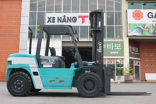 Xe nâng 7 tấn Kion Baoli KBD70, sử dụng động cơ Isuzu Nhật Bản
