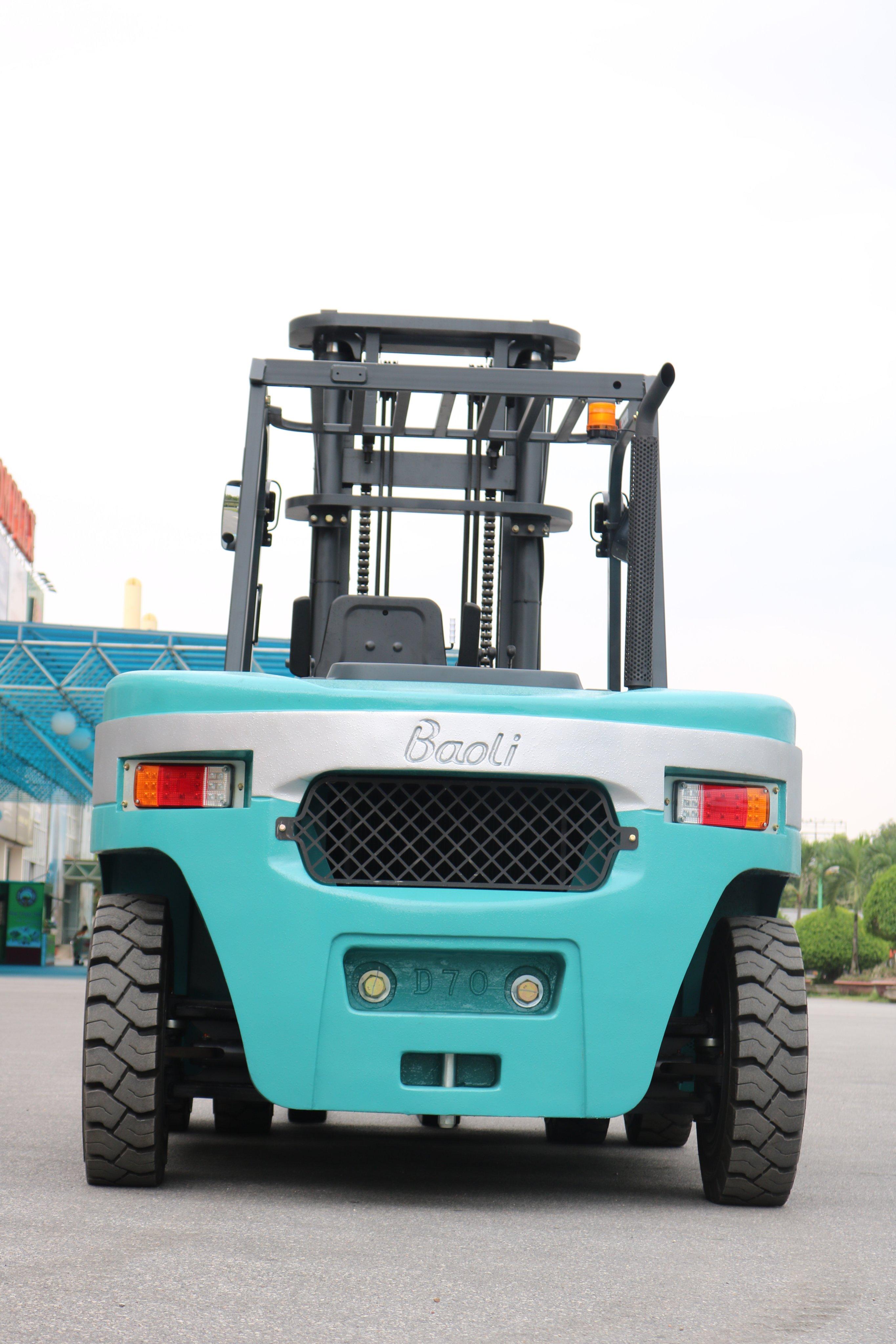 Đối trọng xe nâng dầu 7 tấn KBD70