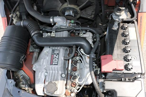 Khoang động cơ Xe nâng dầu Toyota 1.5 tấn 02-8FD15