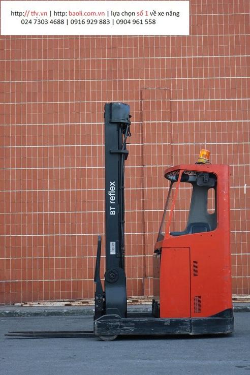Xe nâng BT cũ tại TFV có thể sử dụng trong kho lạnh