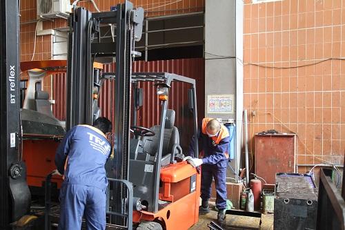 TFV - Đơn vị sửa chữa, bảo dưỡng xe nâng số 1 Việt Nam