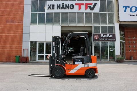 Xe nâng điện Baoli 2.5 tấn